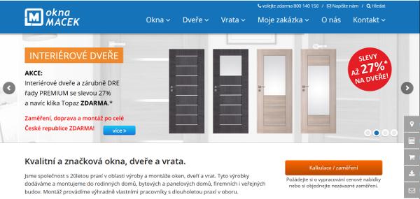 Okna Macek web