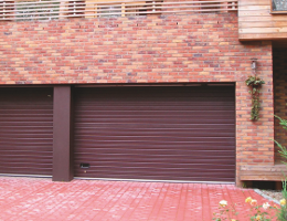 Sekční vrata garážová Kladno